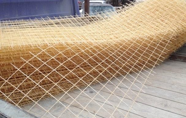 Пластиковая сетка прочна и долговечна