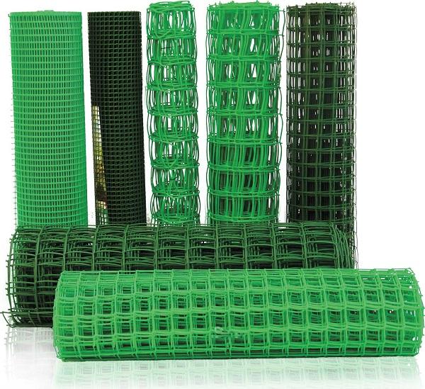 Полимерная сетка для забора в рулонах