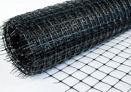 Рулон пластиковой сетки для армирования