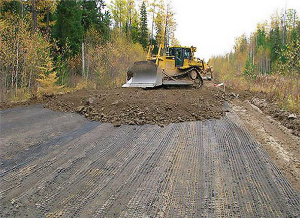 Применение базальтовой сетки для обустройства дорожного покрытия