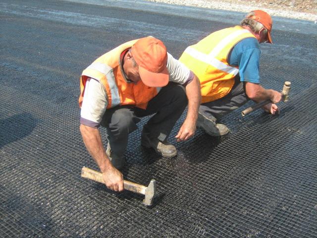Основной задачей базальтовой сетки является армирование заливаемой поверхности