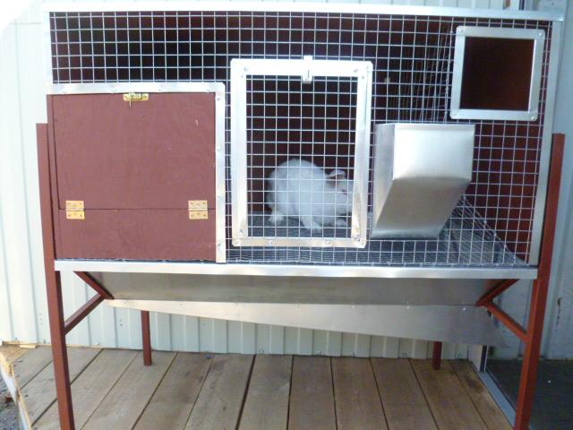 Клетка для кролика из сварной сетки