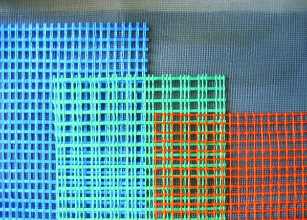Виды сеток из стекловолокнистых нитей