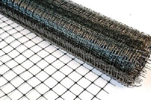Пластиковая сетка для кладки с размером ячеек 20х20 мм