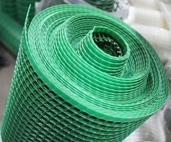 Садовая полимерная сетка в рулоне