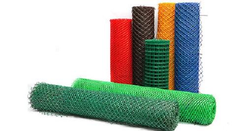Разные варианты исполнения пластиковой сетки