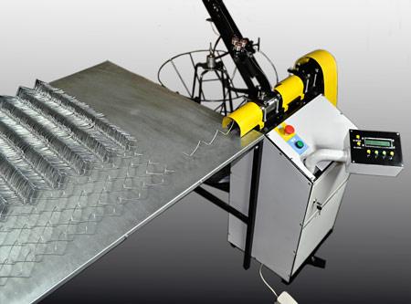 Станок для производства сетки рабица полуавтоматический