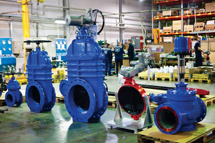 Завод трубопроводной арматуры АДЛ в Коломне