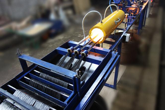 Оборудование для производства стеклопластиковой арматуры не занимает много места