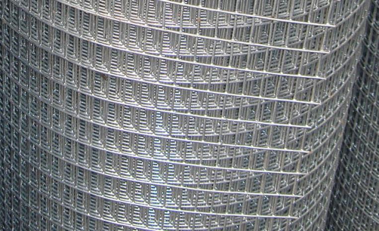 Сварная сетка из стальной оцинкованной проволоки