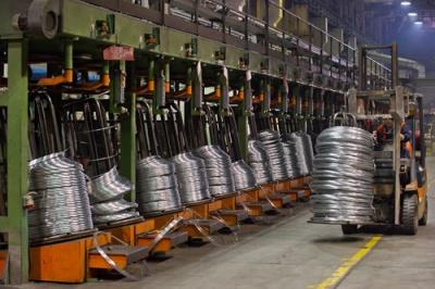 Цех по производству стальной холоднотянутой проволоки