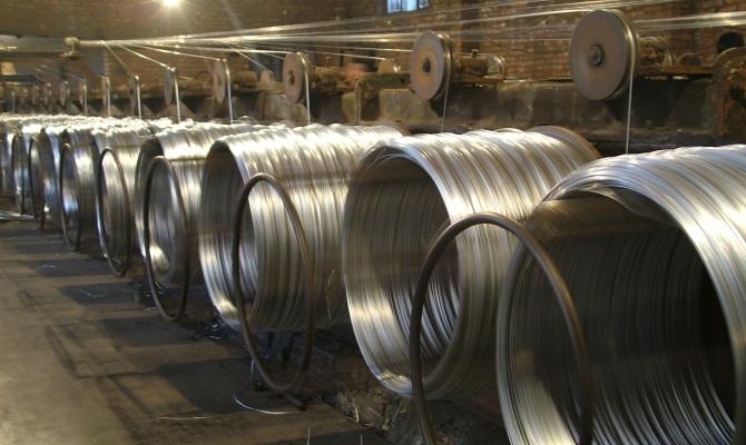 Изготовление стальной роволоки