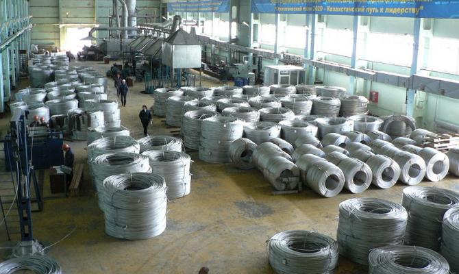 Цех по производству стальной проволоки