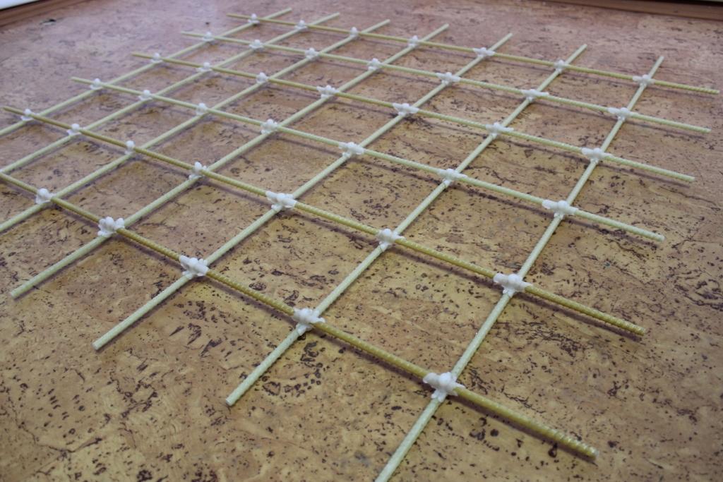 стеклопастиковая арматурная решетка